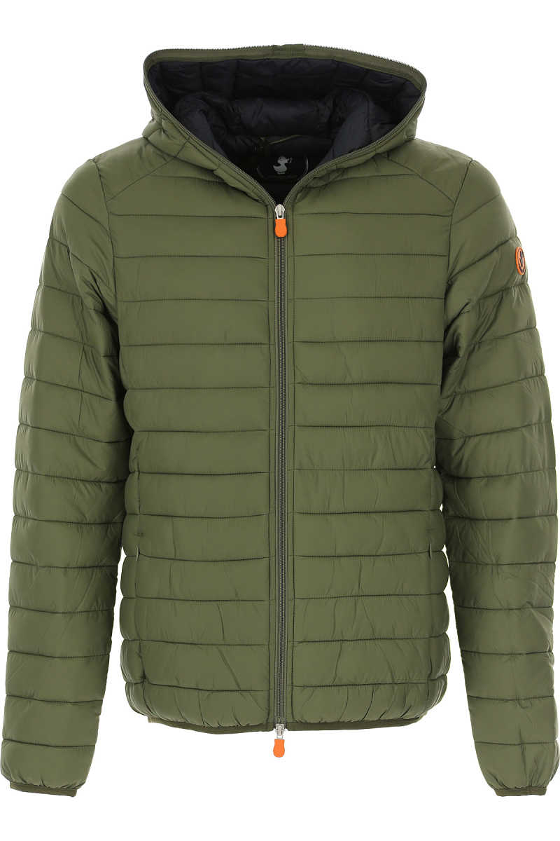 Save the Duck Jacket for Men Military Green UK - GOOFASH - Mens JACKETS
