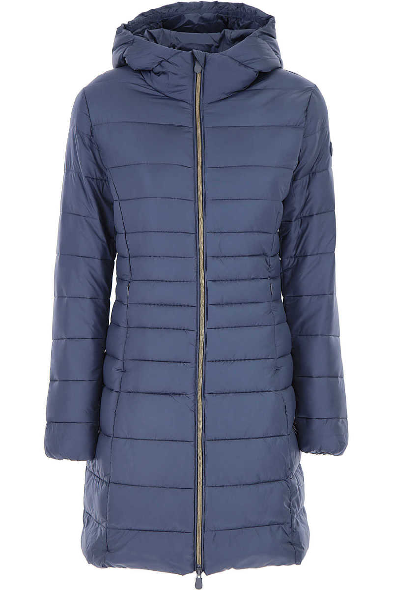 Save the Duck Jacket for Women Space Blue - GOOFASH