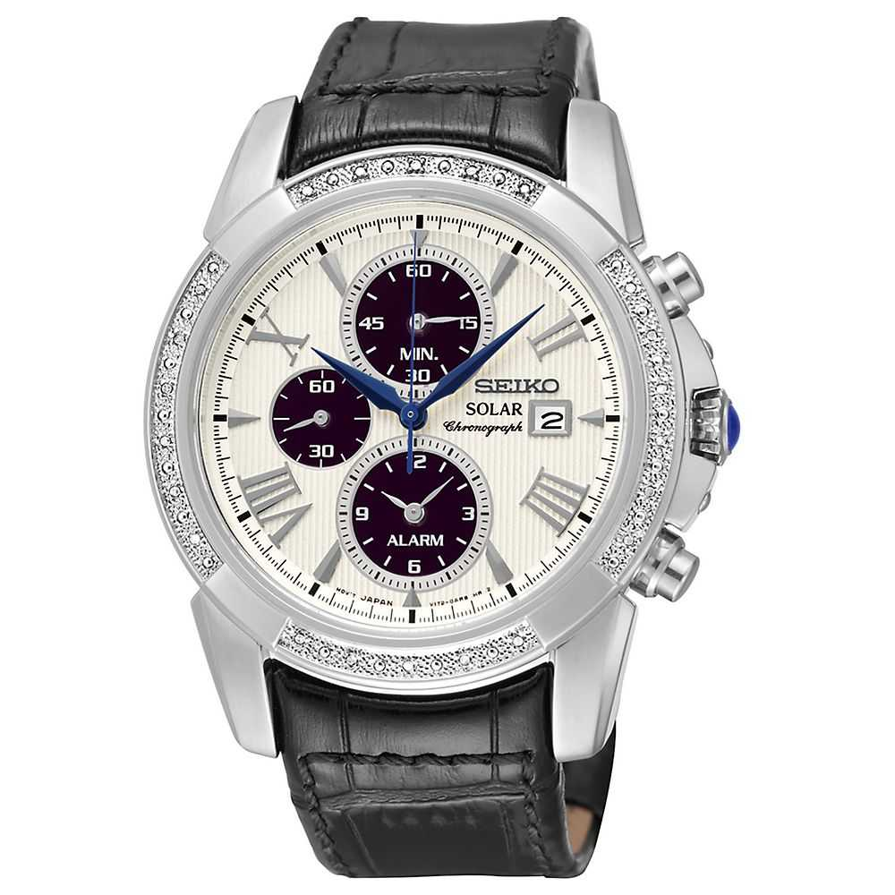 Seiko® Le Grand Sport Diamond Men's Watch - Seiko USA - GOOFASH - Mens WATCHES