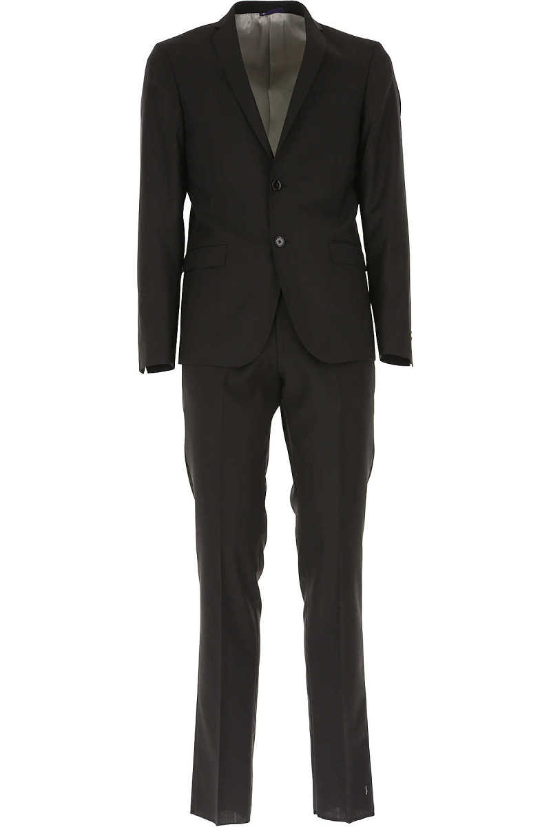 Simbols Men's Suit Black UK - GOOFASH - Mens SUITS