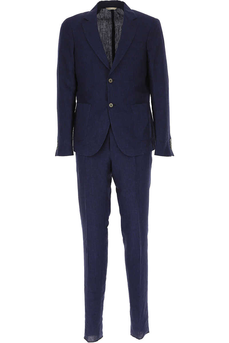Simbols Men's Suit On Sale Midnight - GOOFASH