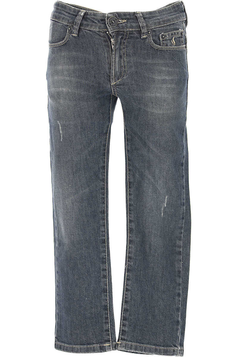 Siviglia Kids Jeans for Boys On Sale in Outlet Blue - GOOFASH - Mens JEANS
