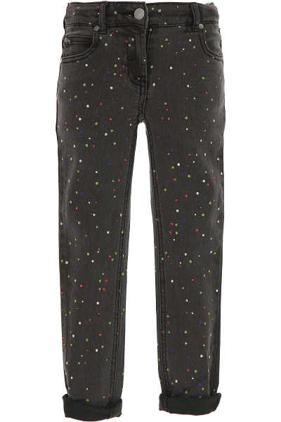 Stella McCartney Kids Pants for Girls On Sale in Outlet Grey - GOOFASH - Womens TROUSERS