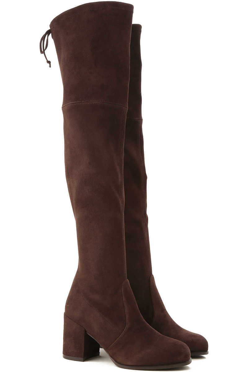 Stuart Weitzman Boots for Women US 5 (EU 35.5) US 8 (EU 38.5) Booties On Sale in Outlet UK - GOOFASH