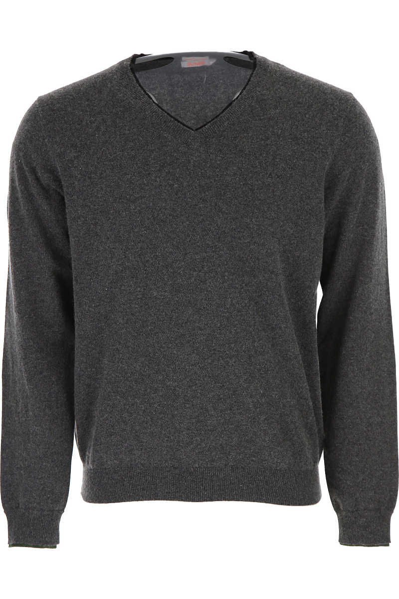 Sun68 Sweater for Men Jumper On Sale in Outlet Dark Grey UK - GOOFASH - Mens SWEATERS