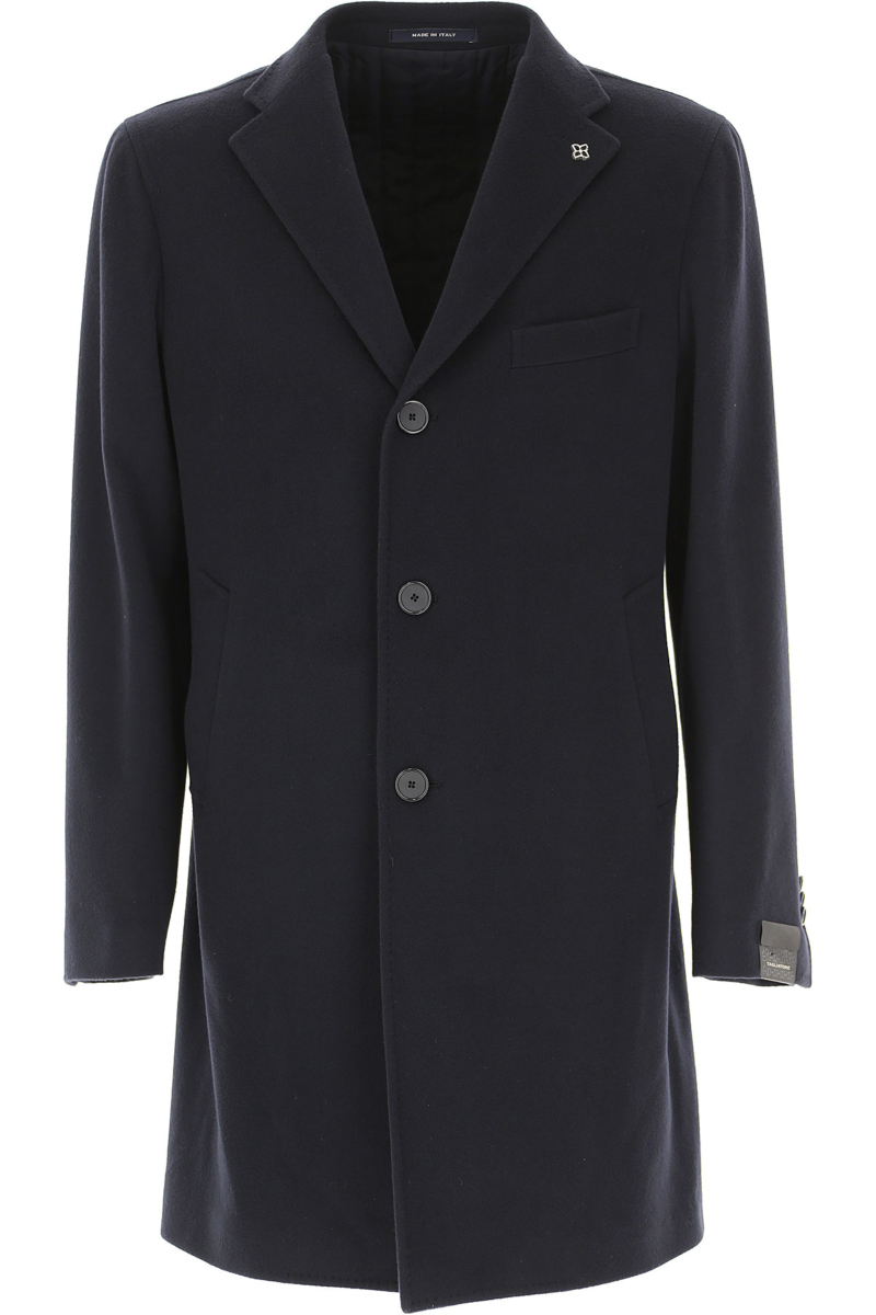 Tagliatore Men's Coat Blue - GOOFASH