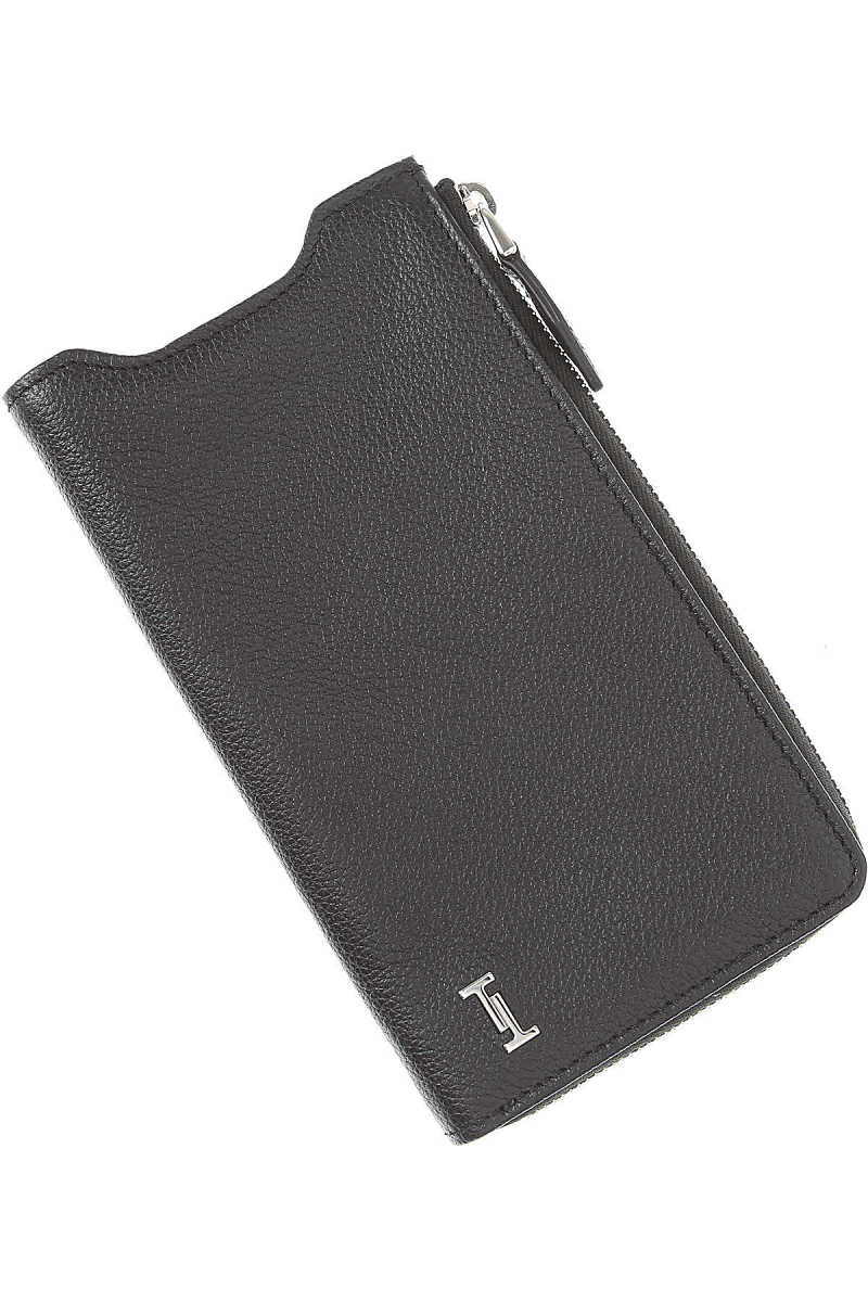 Tods Mens Wallets On Sale Black UK - GOOFASH