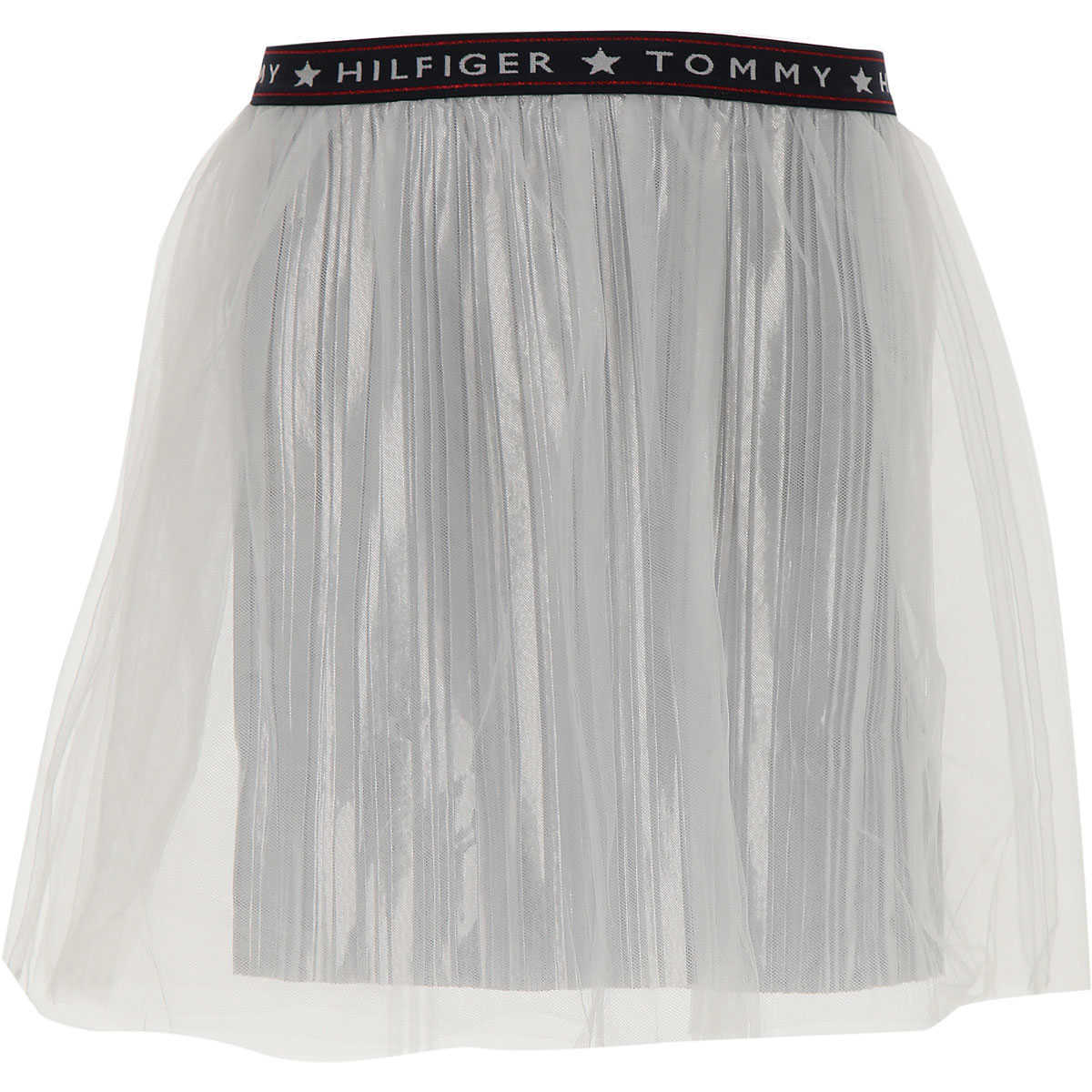 Tommy Hilfiger Kids Skirts for Girls On Sale Silver UK - GOOFASH - Womens SKIRTS