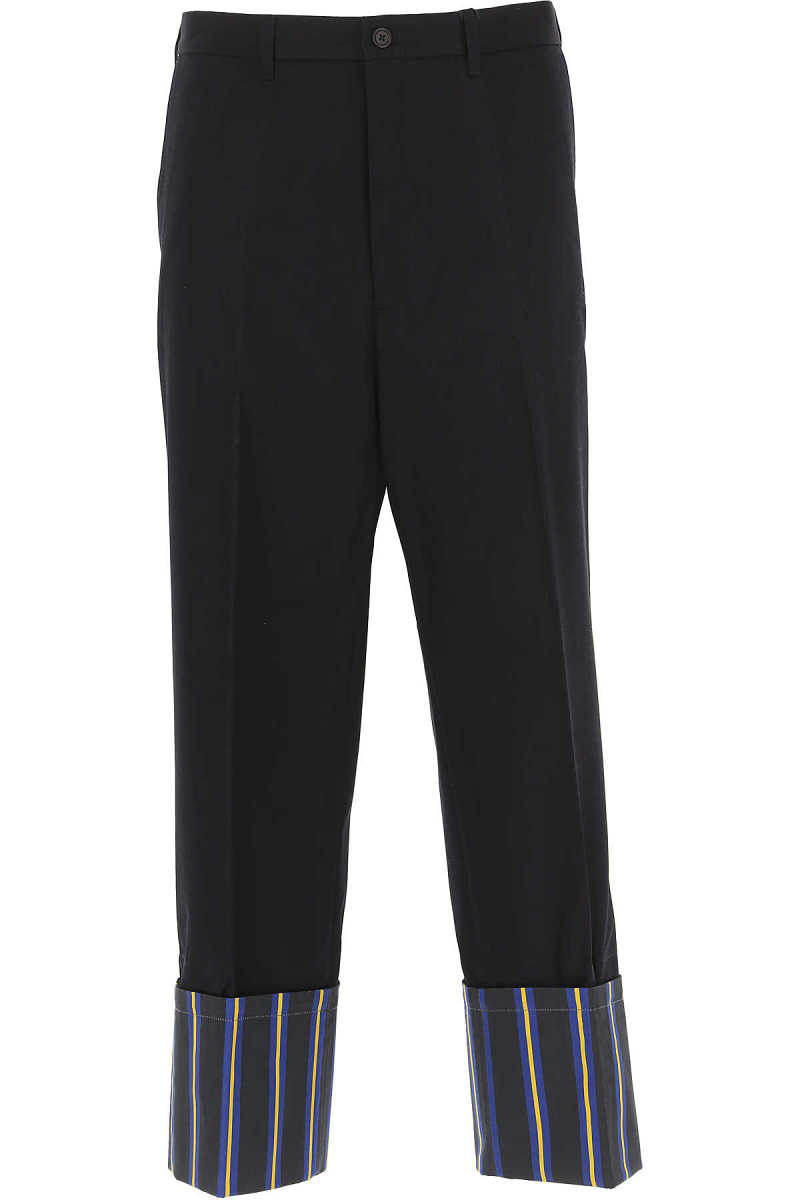 Tommy Hilfiger Pants for Men On Sale in Outlet Midnight Blue UK - GOOFASH - Mens TROUSERS