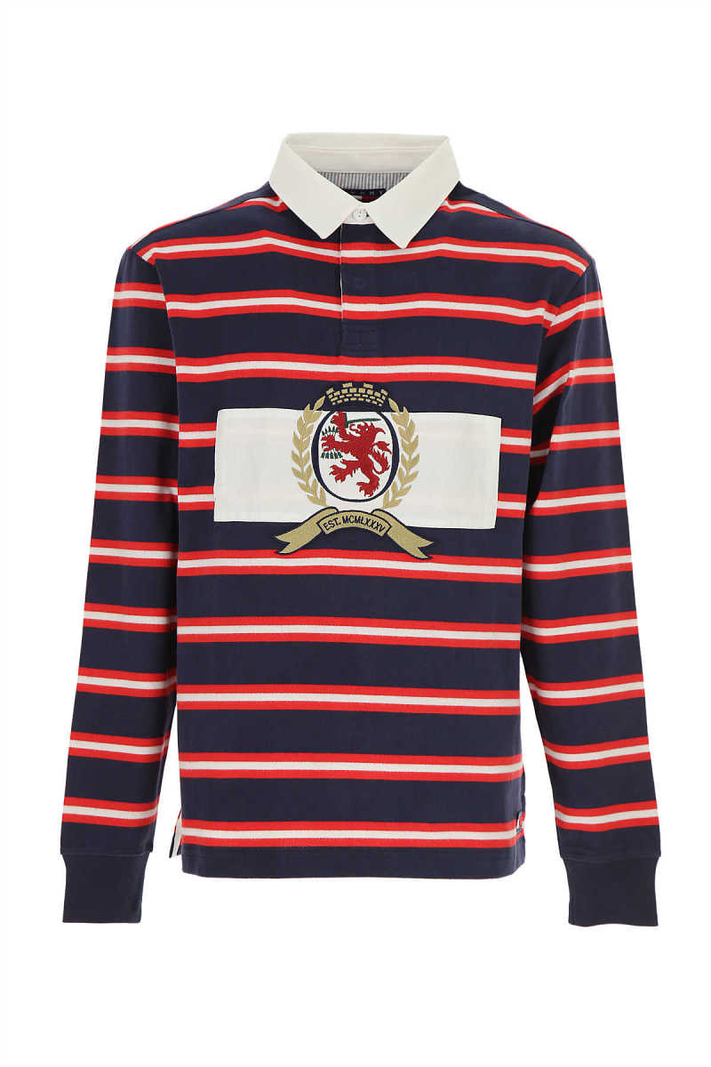Tommy Hilfiger Polo Shirt for Men On Sale White - GOOFASH