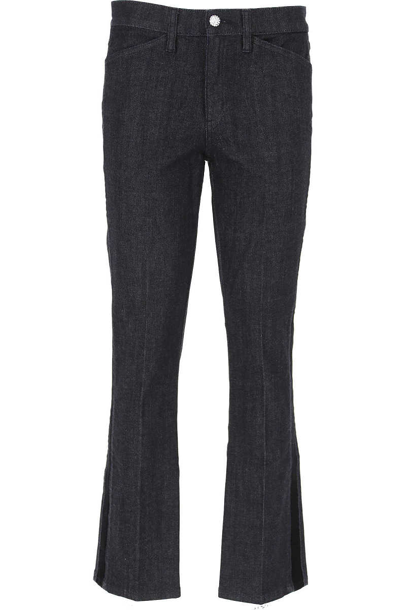 Tory Burch Jeans On Sale in Outlet Blue Denim - GOOFASH