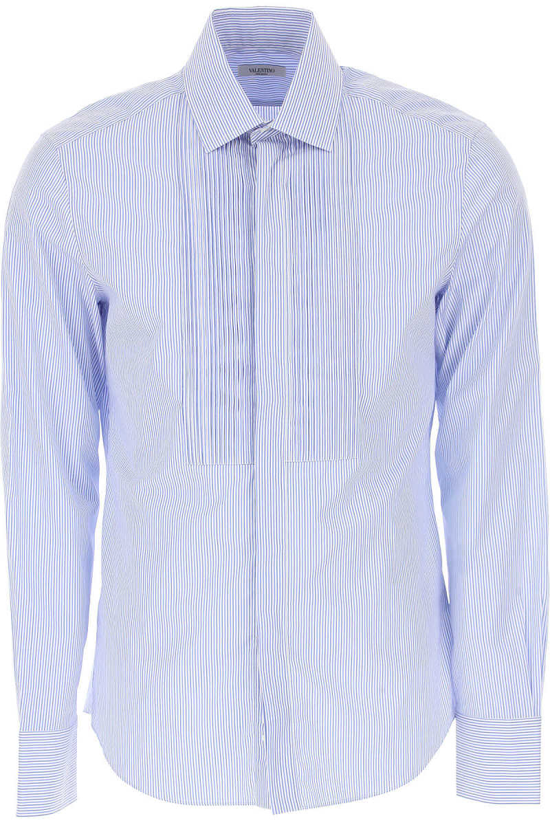 Valentino Shirt for Men On Sale in Outlet Light Blue - GOOFASH