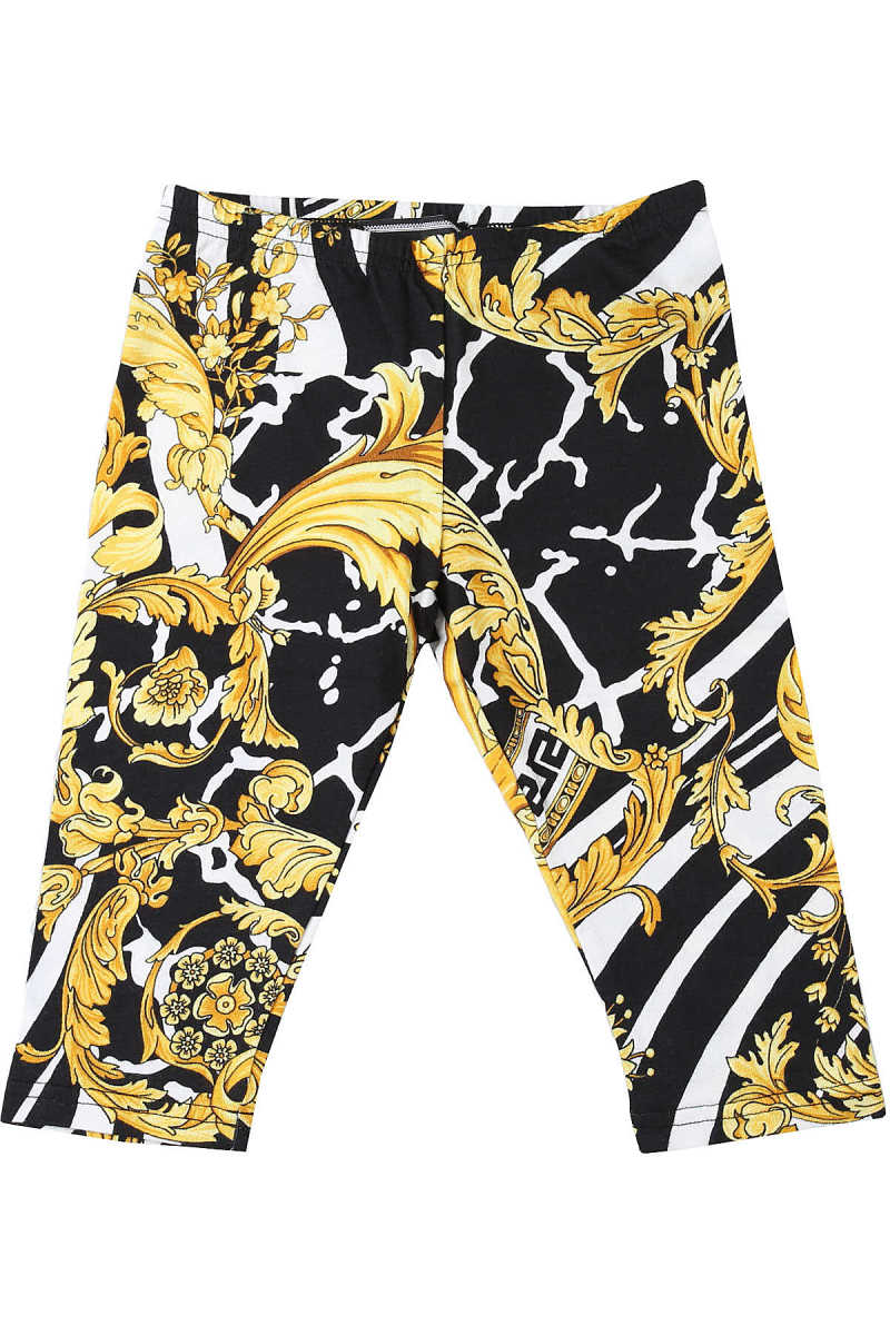Versace Baby Pants for Girls White - GOOFASH - Womens TROUSERS