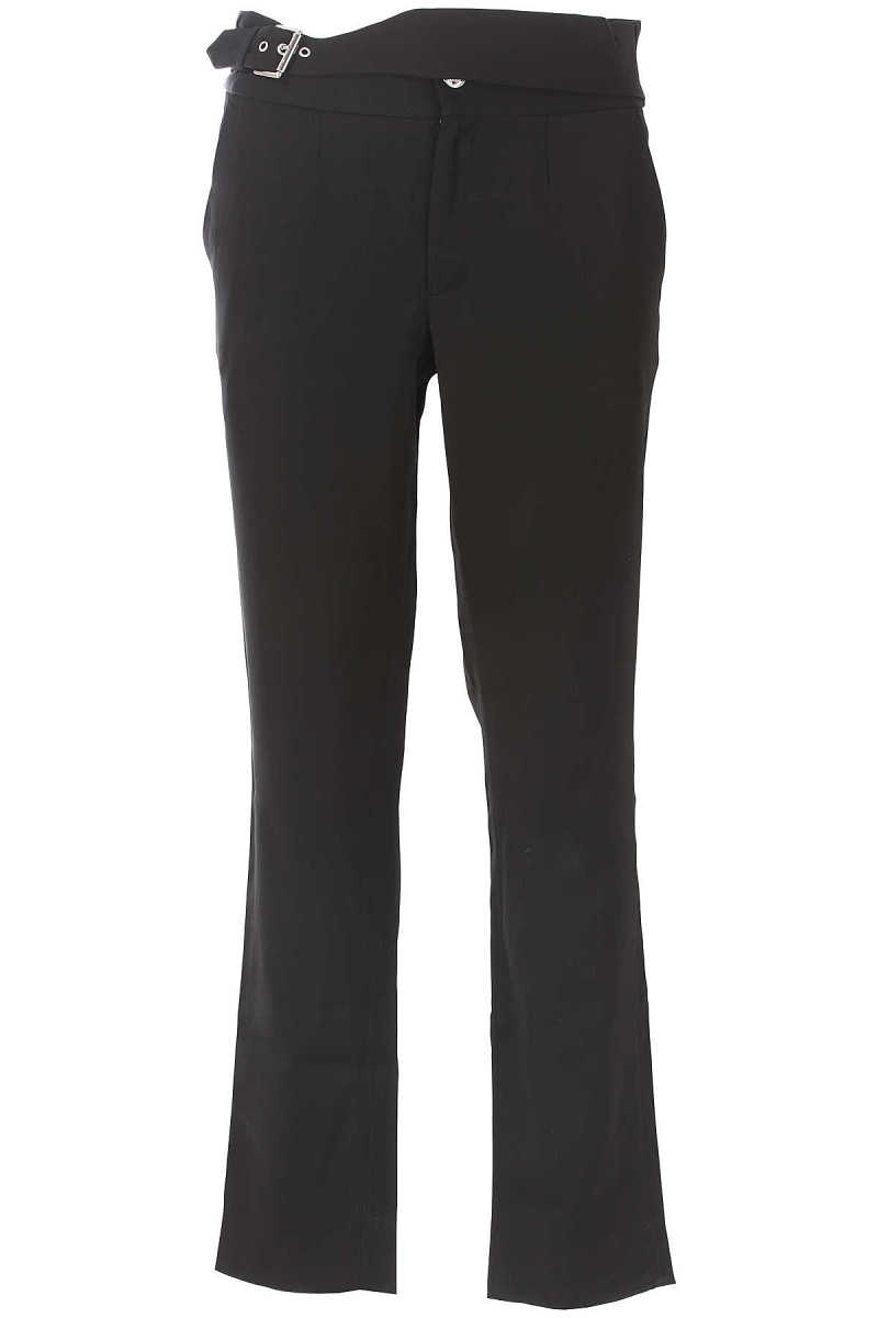 Versace Pants for Men On Sale in Outlet Black UK - GOOFASH - Mens TROUSERS