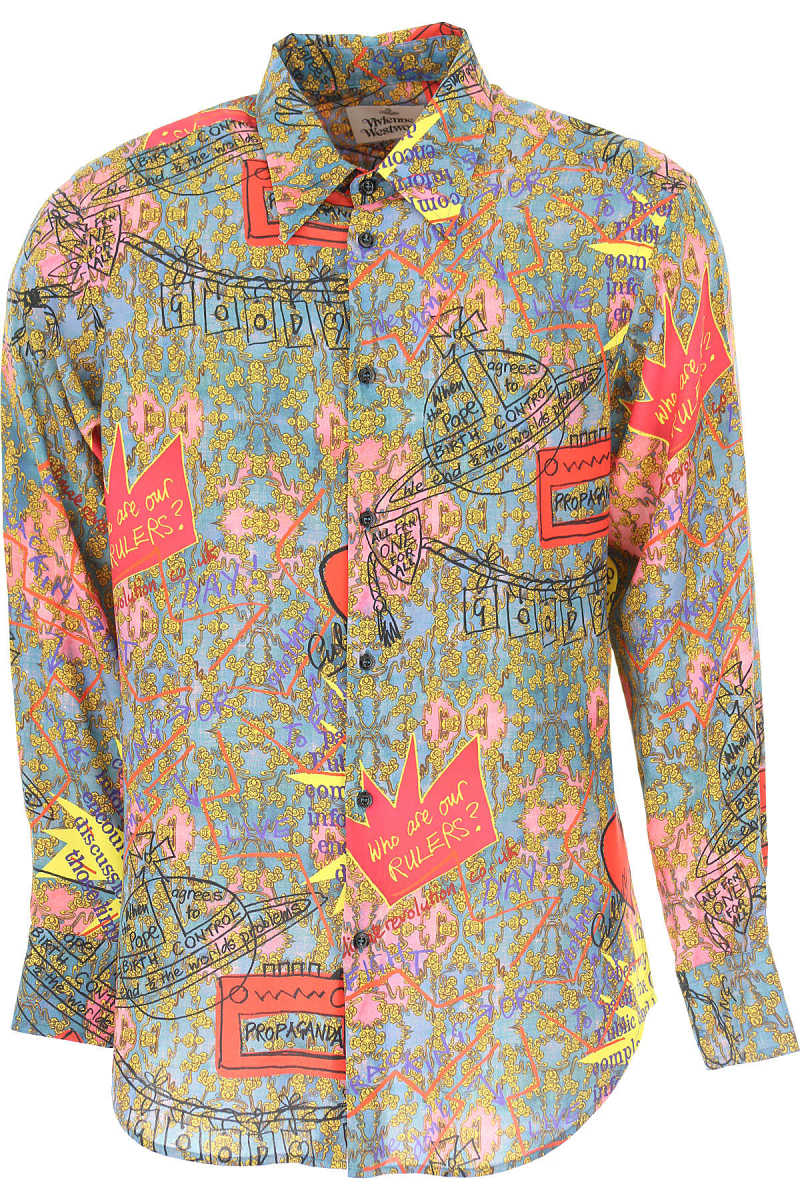 Vivienne Westwood Shirt for Men On Sale Multicolor - GOOFASH