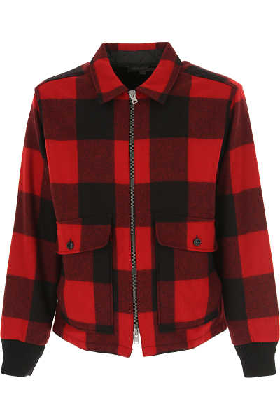 Woolrich Jacket for Men Red - GOOFASH