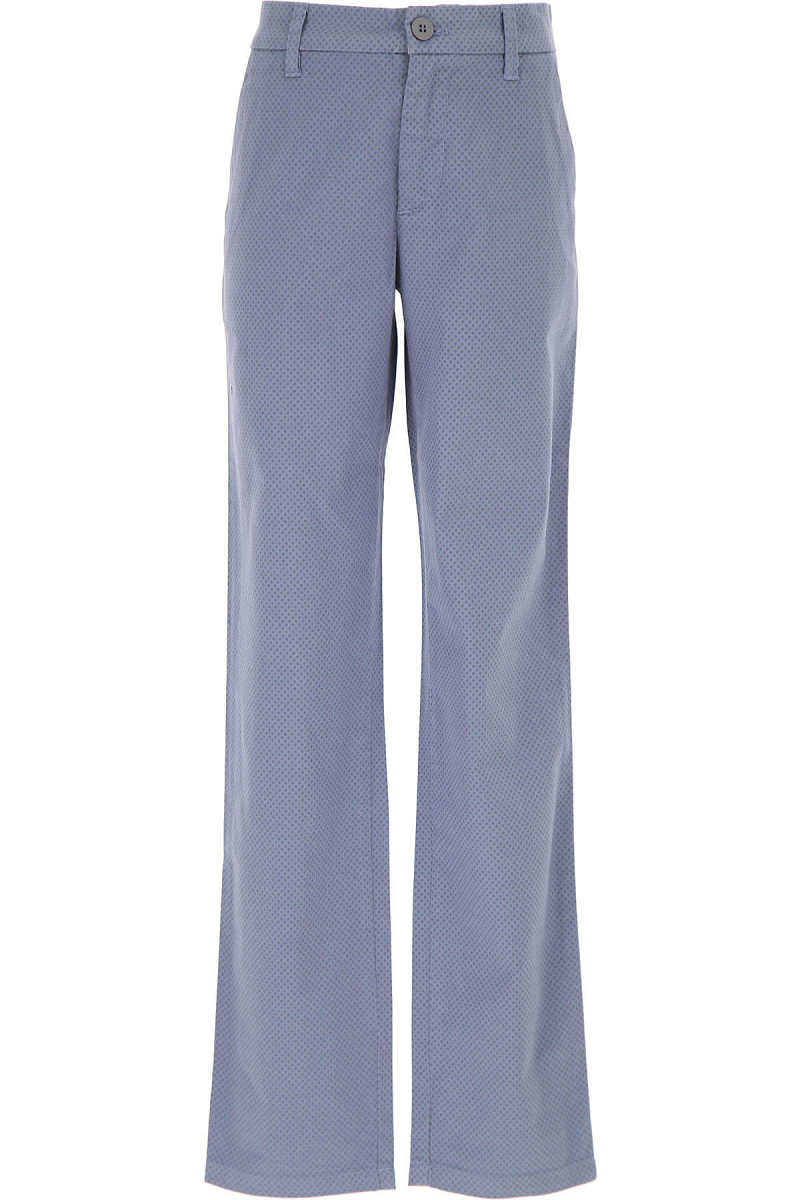 Woolrich Kids Pants for Boys On Sale in Outlet Mid Blue - GOOFASH - Mens TROUSERS