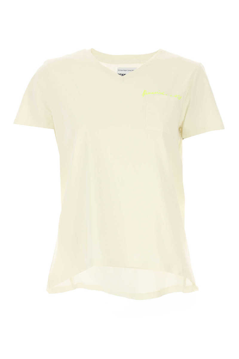 Woolrich T-Shirt for Women On Sale White UK - GOOFASH