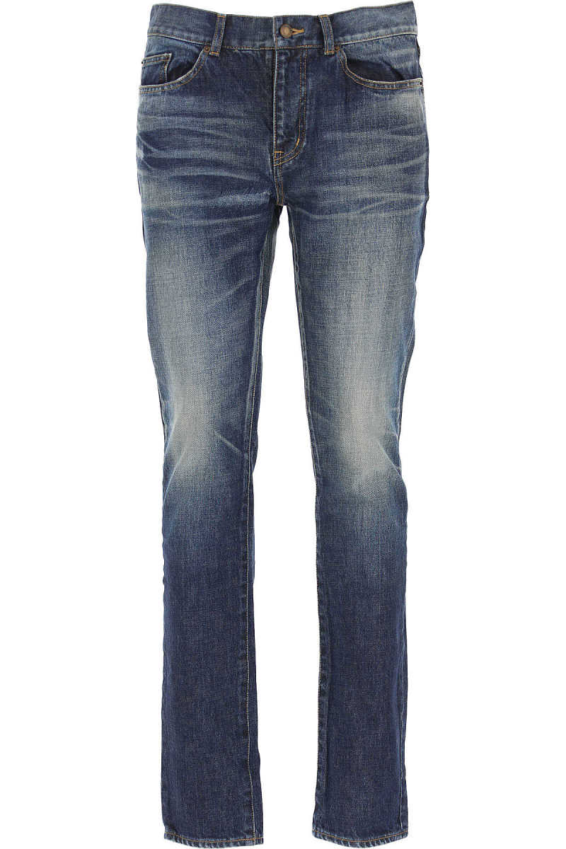 Yves Saint Laurent Jeans On Sale in Outlet Deep Blue - GOOFASH