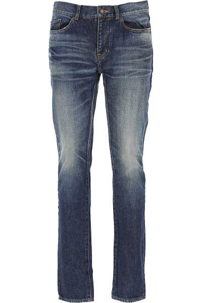 Yves Saint Laurent Jeans On Sale in Outlet Deep Blue UK - GOOFASH - Mens JEANS