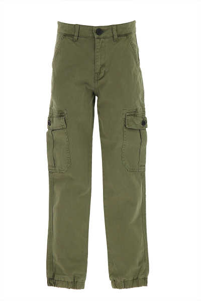 Zadig & Voltaire Kids Pants for Boys On Sale Military Green UK - GOOFASH - Mens TROUSERS