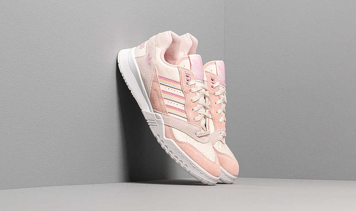 adidas A.R. Trainer W Core White/ True Pink/ Orchid Tint HU - GOOFASH - Womens SPORTS SHOES