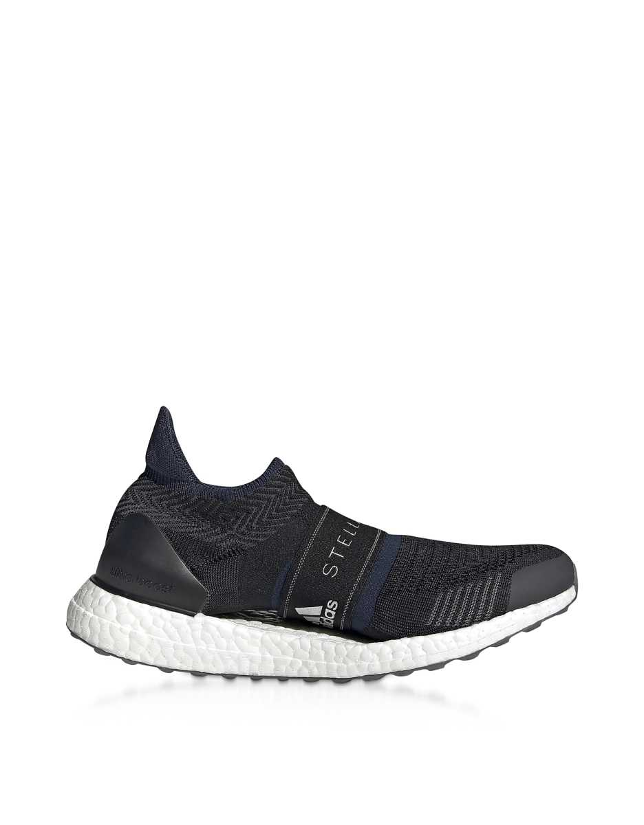 Adidas Stella McCartney  Shoes Black & Indigo UltraBOOST X 3D Sneakers Black USA - GOOFASH - Womens SNEAKER