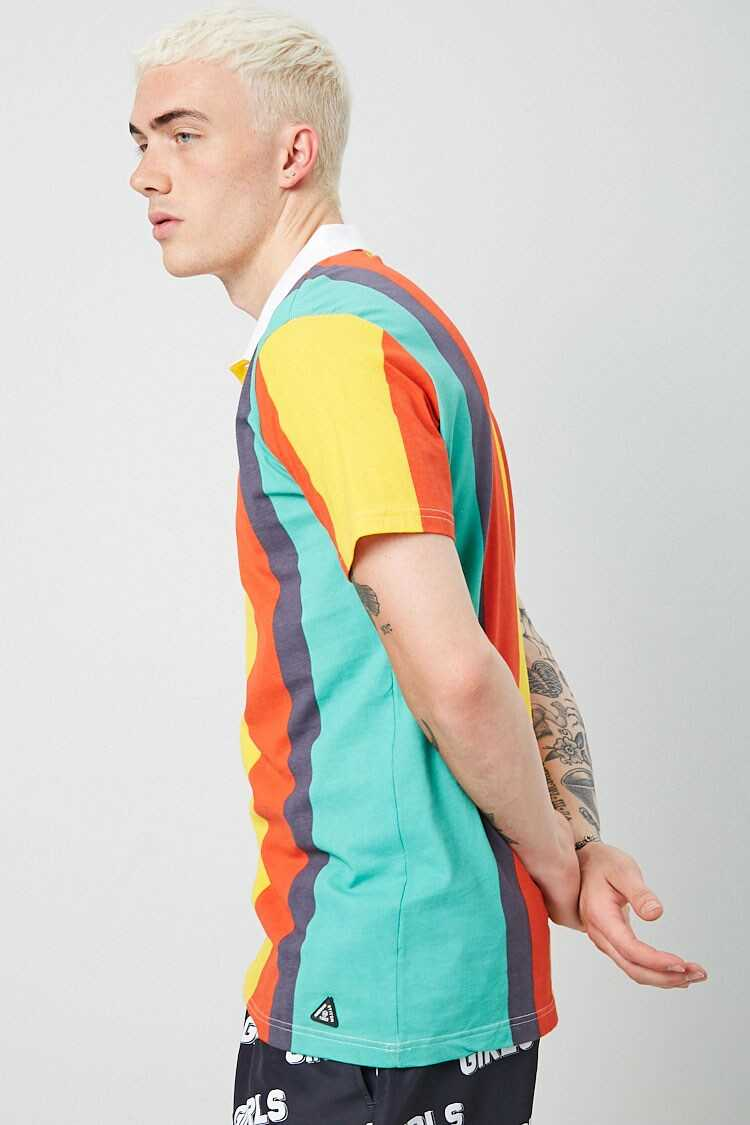 American Stitch Colorblock Polo at Forever 21