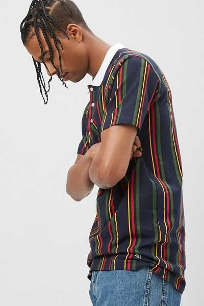 American Stitch Striped Polo at Forever 21