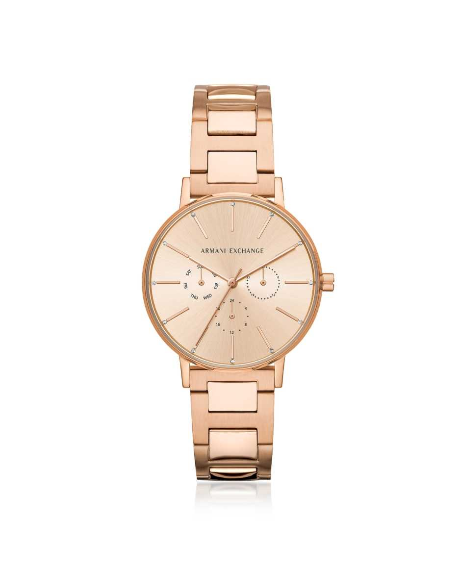Armani Exchange  Women's Watches Lola Rose Chronograph Women's Watch Rose Gold USA - GOOFASH - Womens WATCHES