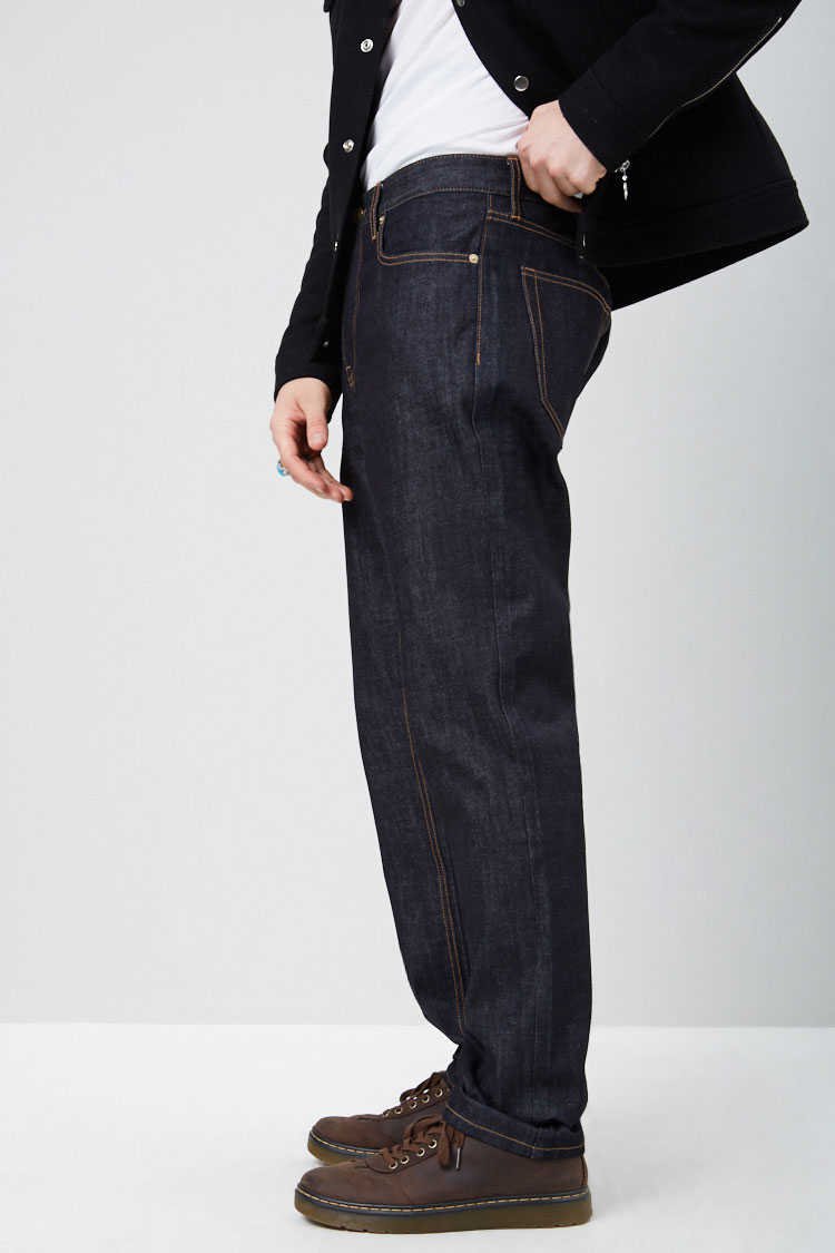 Clean Wash Straight-Leg Jeans at Forever 21