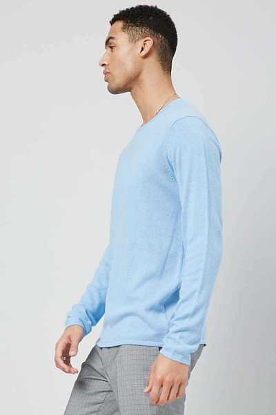 Crew Neck Knit Sweater at Forever 21