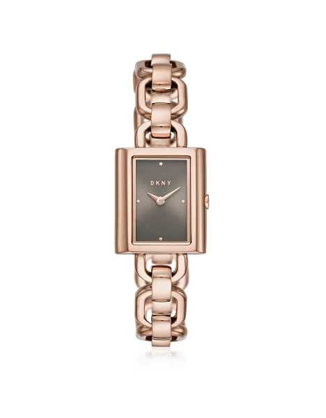 DKNY Women's Watches Uptown Rose Gold Tone Chain Watch Rose Gold USA - GOOFASH - Womens WATCHES