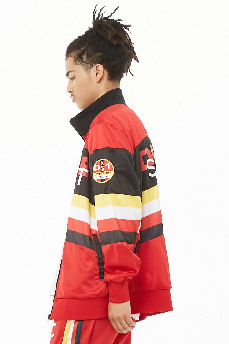 Dope Colorblocked Jacket at Forever 21