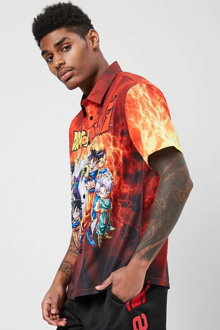 Dragon Ball Z Graphic Shirt at Forever 21