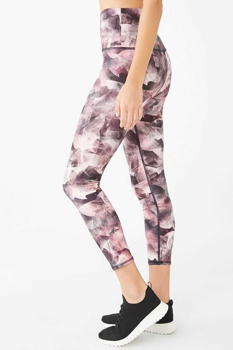 Forever 21 Active Abstract Print Leggings