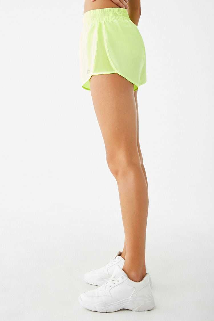 Forever 21 Active Mesh-Panel Shorts