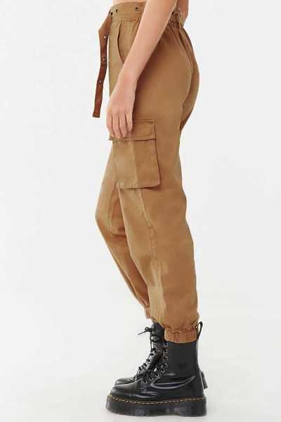 Forever 21 Belted Cargo Pants