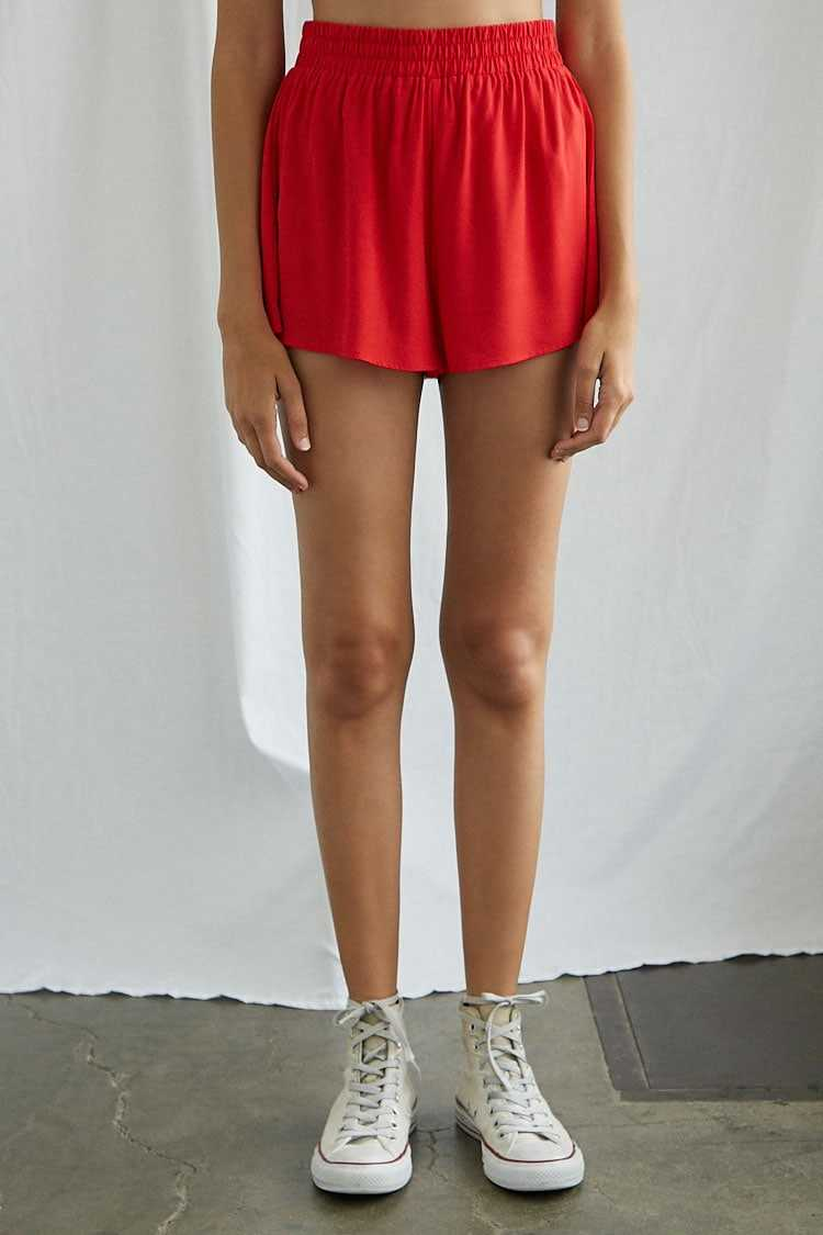 Forever 21 Billowy Woven Shorts