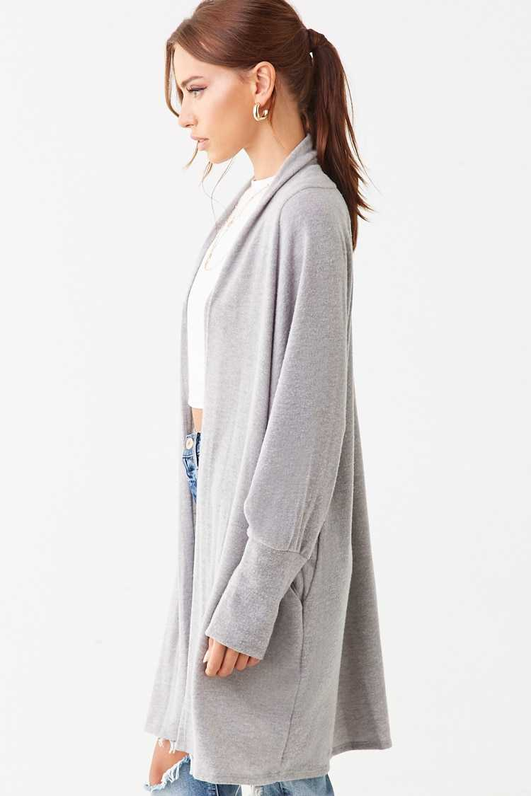 Forever 21 Brushed Knit Cardigan