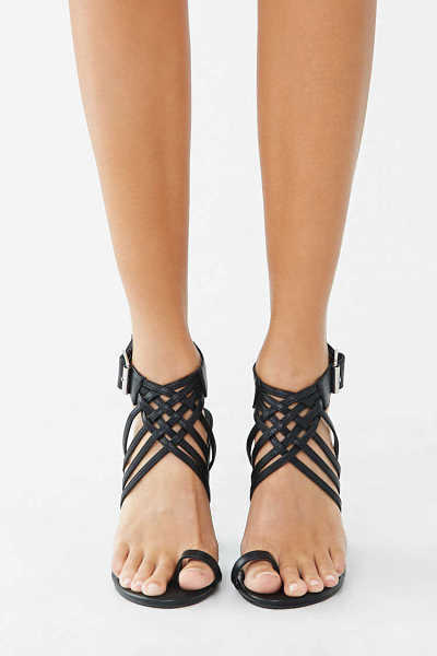 Forever 21 Caged Chunky Heels