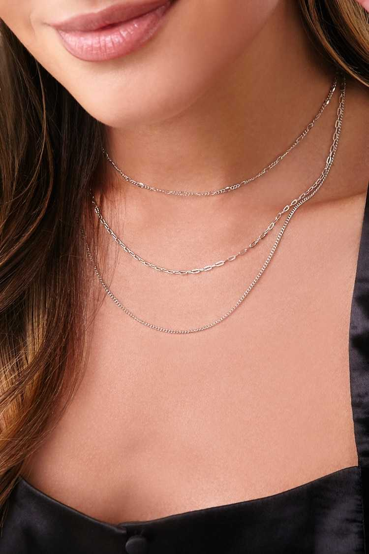 Forever 21 Chain Necklace Set