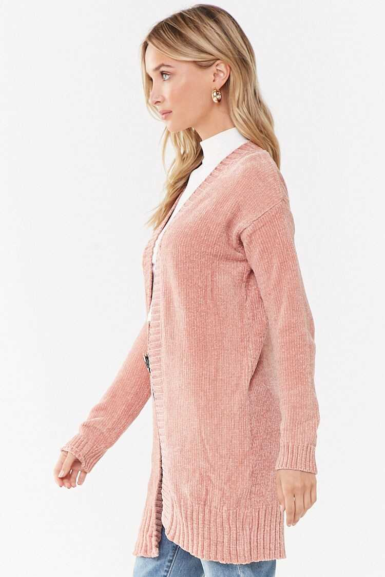 Forever 21 Chenille Knit Cardigan