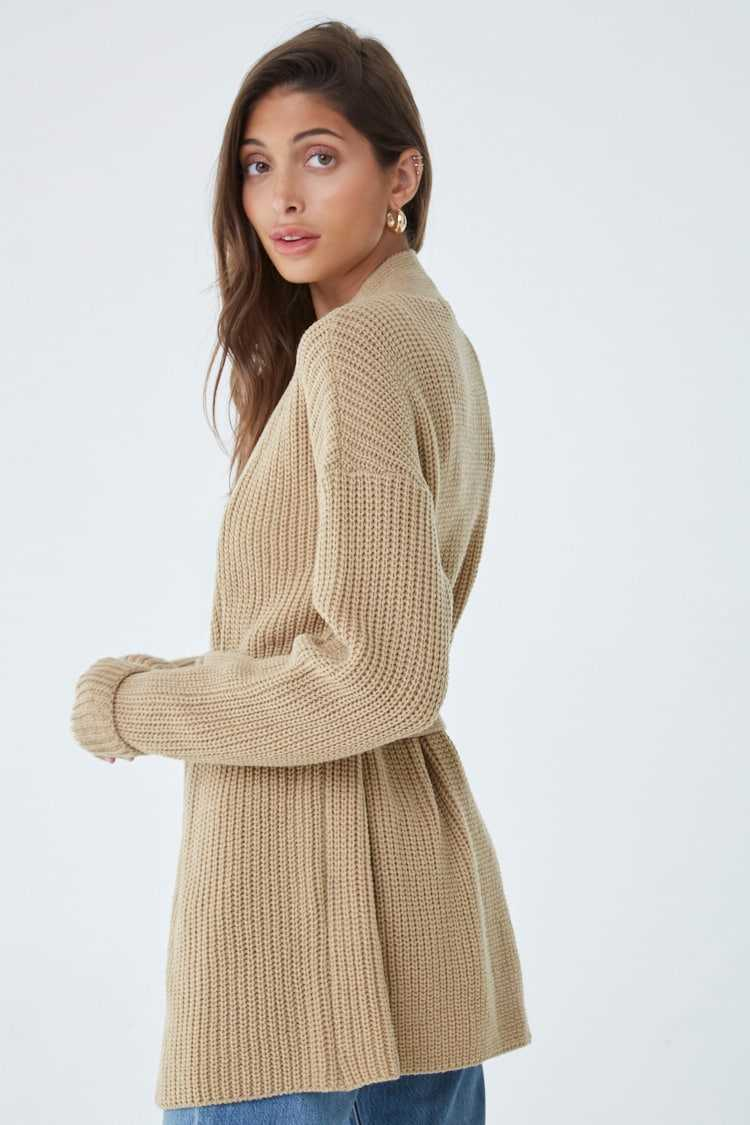 Forever 21 Chunky Belted Cardigan