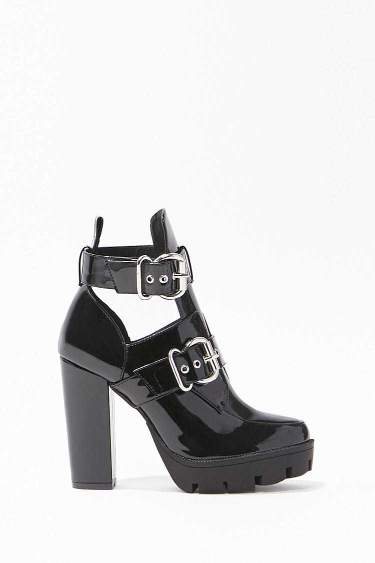 Forever 21 Cutout Ankle Boots