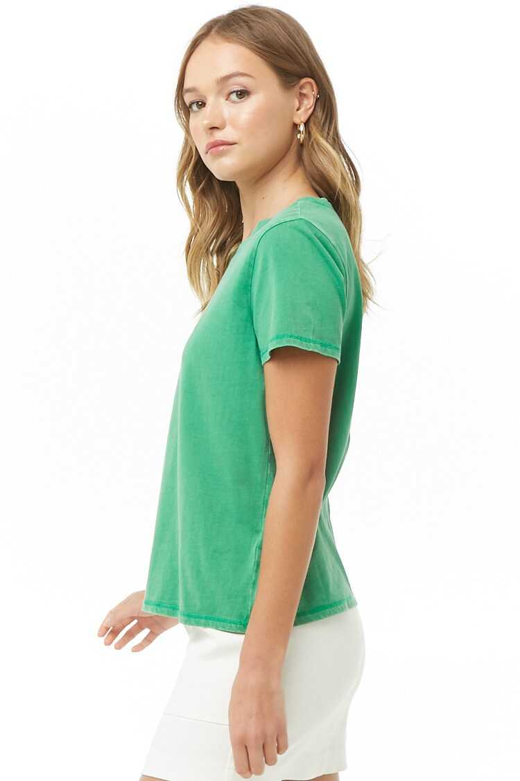 Forever 21 Faded Knit Tee