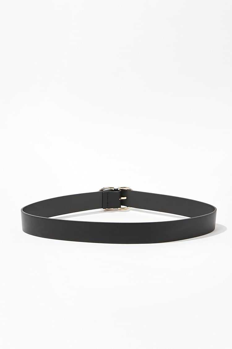Forever 21 Faux Leather D-Ring Belt