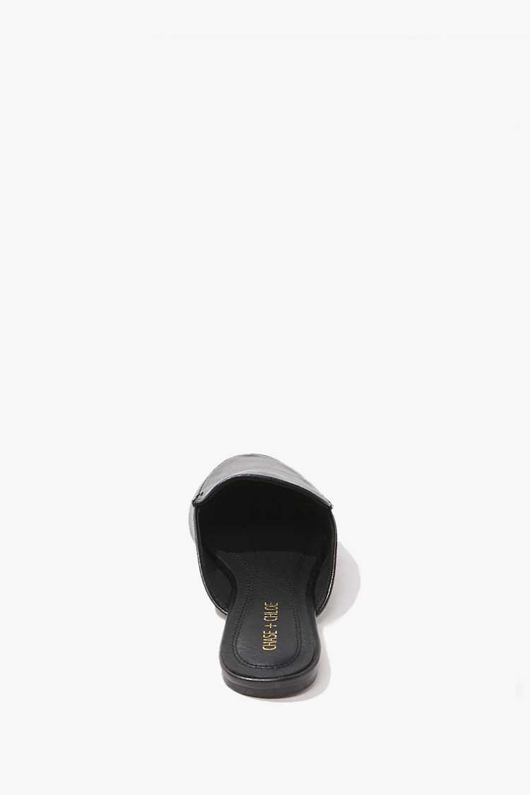 Forever 21 Faux Leather Mules