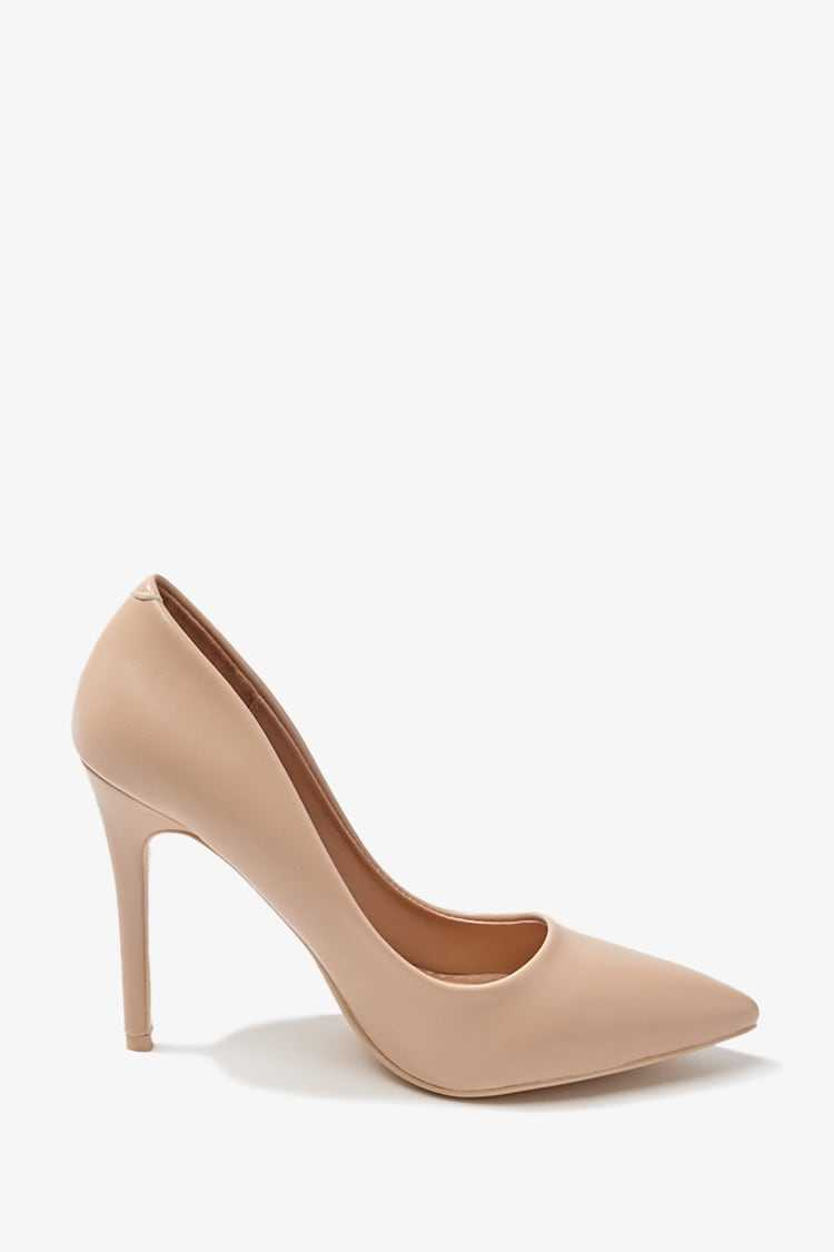 Forever 21 Faux Leather Pumps