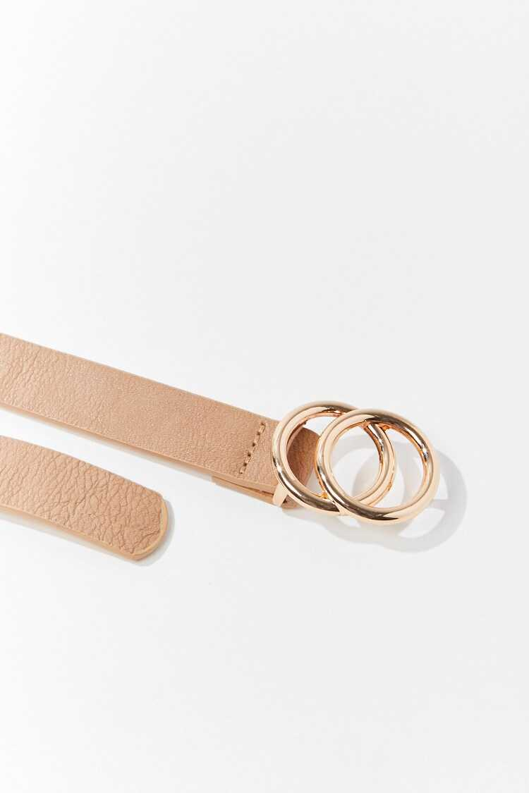 Forever 21 Faux Leather Skinny Waist Belt